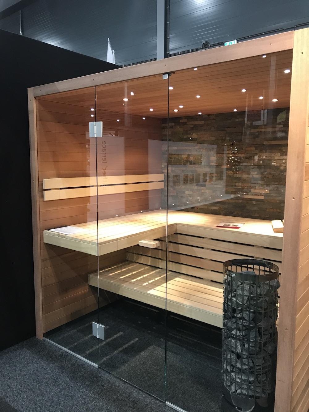 De UW-magazines komen tot leven op Beurs Eigen Huis Cerdic sauna