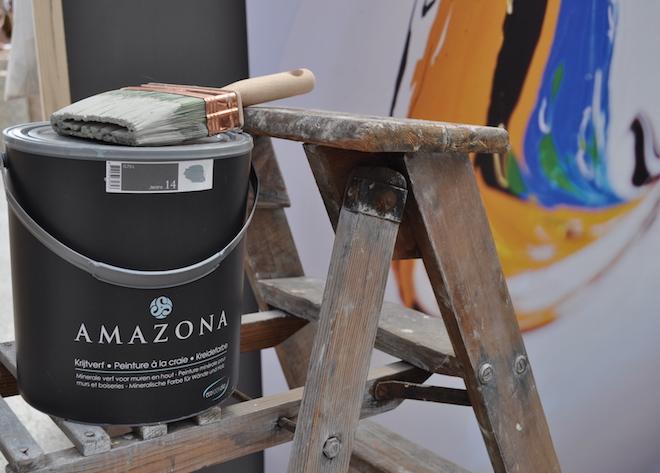 UW-woonmagazine blog Een frisse start van een nieuw jaar Amazona krijtverf by Styling ID