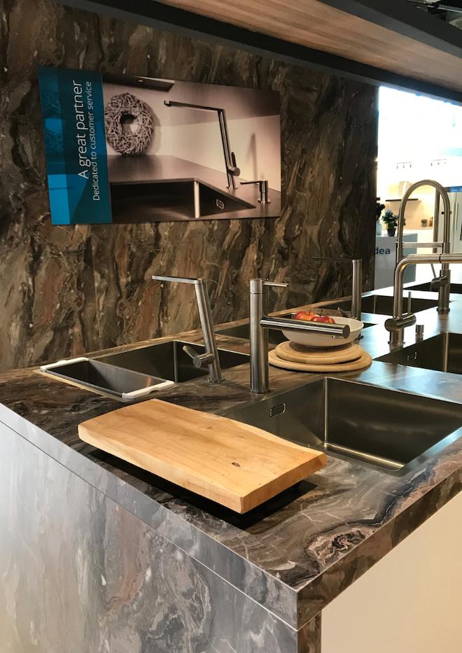 Blog UW-woonmagazine Living Kitchen 2019: de internationale vakbeurs voor de keukenwereld caressi