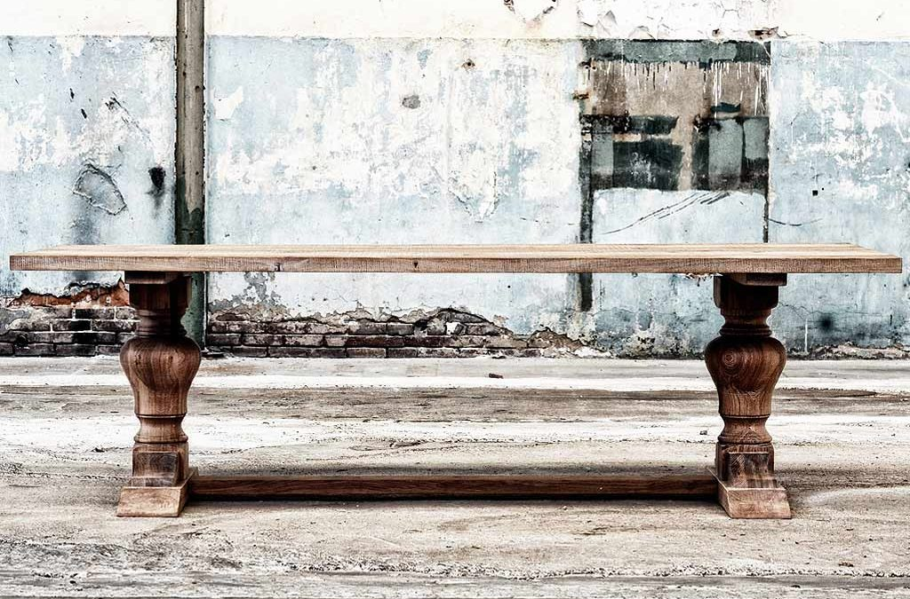 UW-woonmagazine Woonblog Oud hout geeft karakter aan je interieur tafel