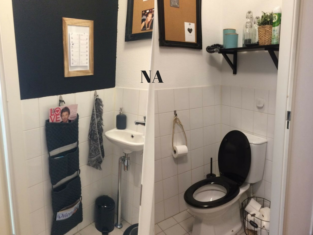 UW-woonmagazine blog pimp je saaie toilet 1 na door Styling ID