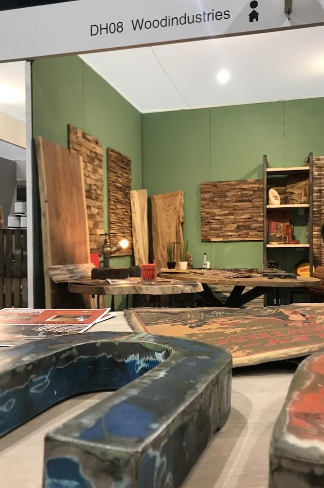 blog UW-woonmagazine Redactie bezoekt Beurs Eigen Huis Woodindustries by Styling ID