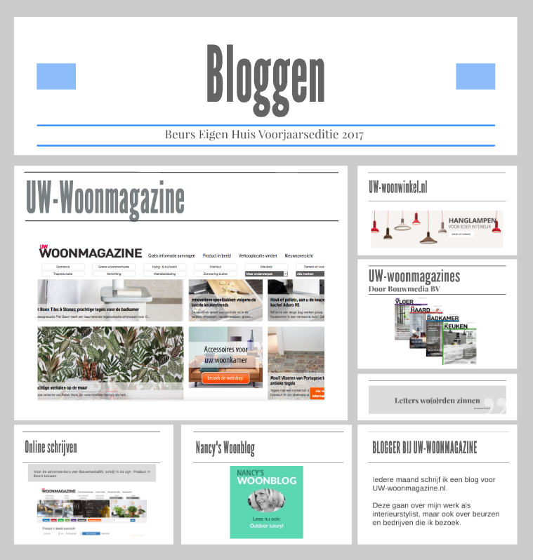 UW-woonmagazine Woonblog inspiratiesessie in Bloggers Home door Styling ID