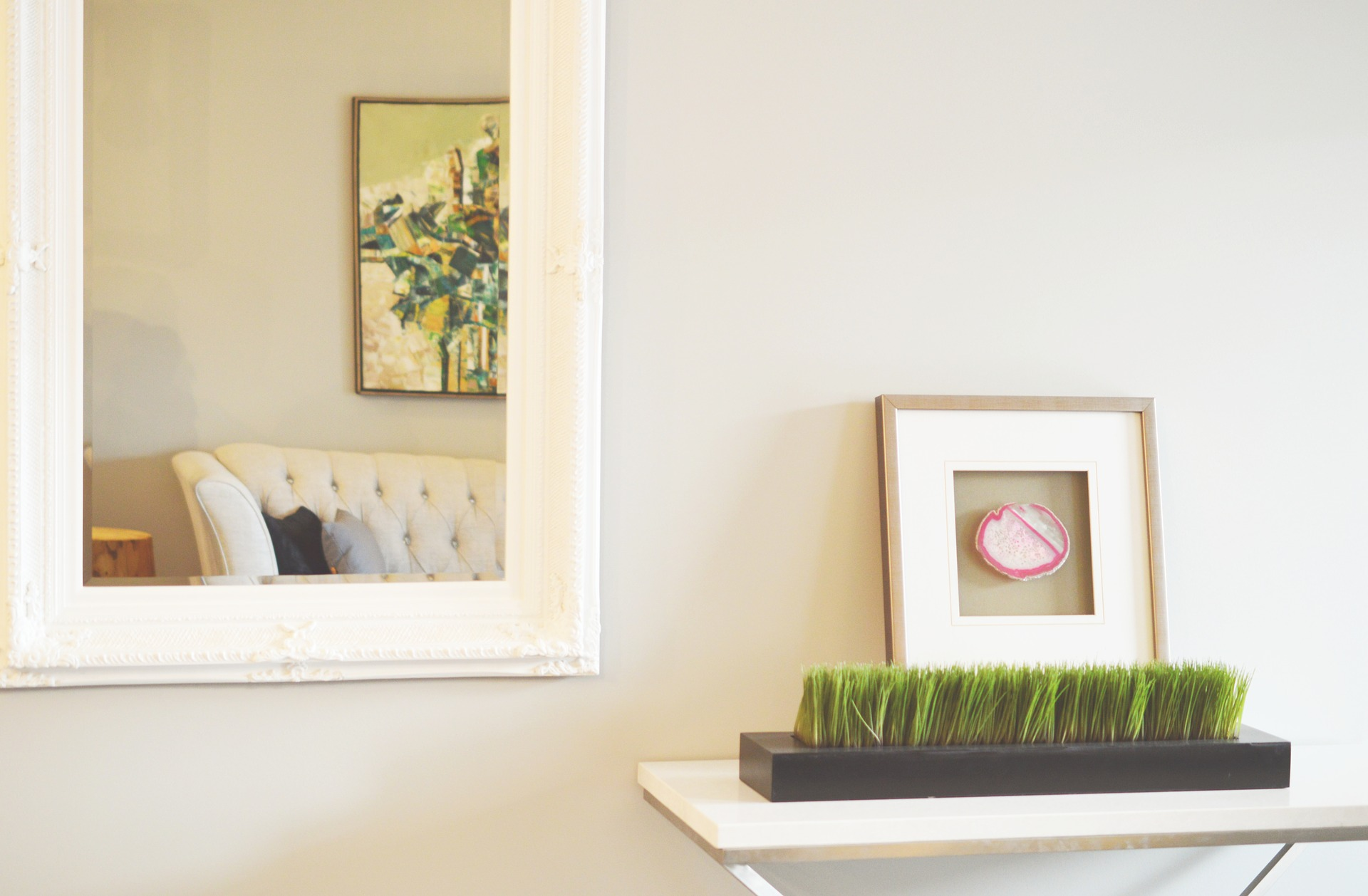 UW-woonmagazine blog Tips om een kleine kamer te stylen spiegel door Styling ID