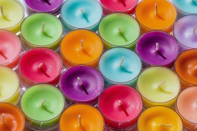 UW-woonmagazine blog Maak je huis lente proof kaarsen