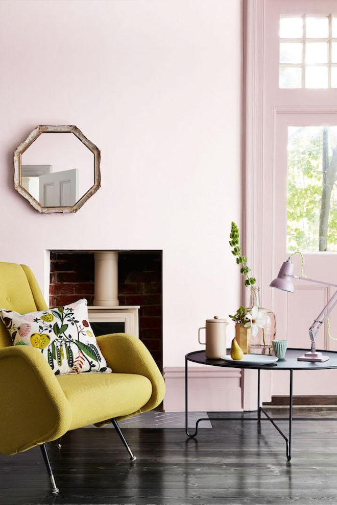 UW-woonmagazine blog Zachte pastelkleuren in huis geven zomers effect door Styling ID Little Green
