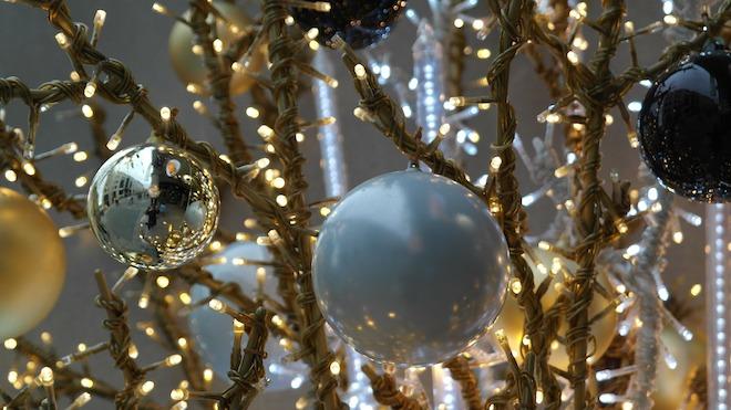 Kerst met een vleugje goud modern