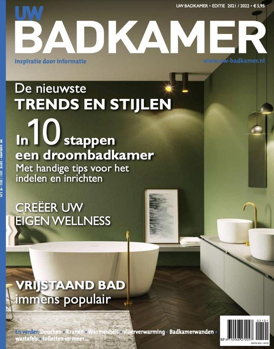Badkamer inspiratie magazine. Magazine bomvol inspiratie en badkamertrends #badkamertrends #badkamer #uwbadkamer #badkamerinspiratie