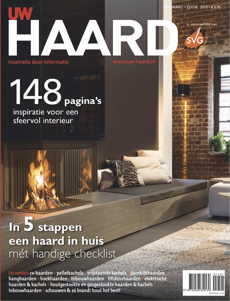 Het haarden magazine van Nederland met alles over haarden en kachel, informatie en sfeervolle reportages. UW Haard magazine #haard #uwhaard #magazine #interieur