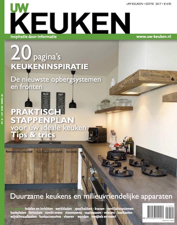Nieuw keukenmagazine UW Keuken met voorbeelden, inspiratie, tips en trends. Alles op het gebied van keukens en inbouwapparatuur. Bestel het nieuwe magazine online