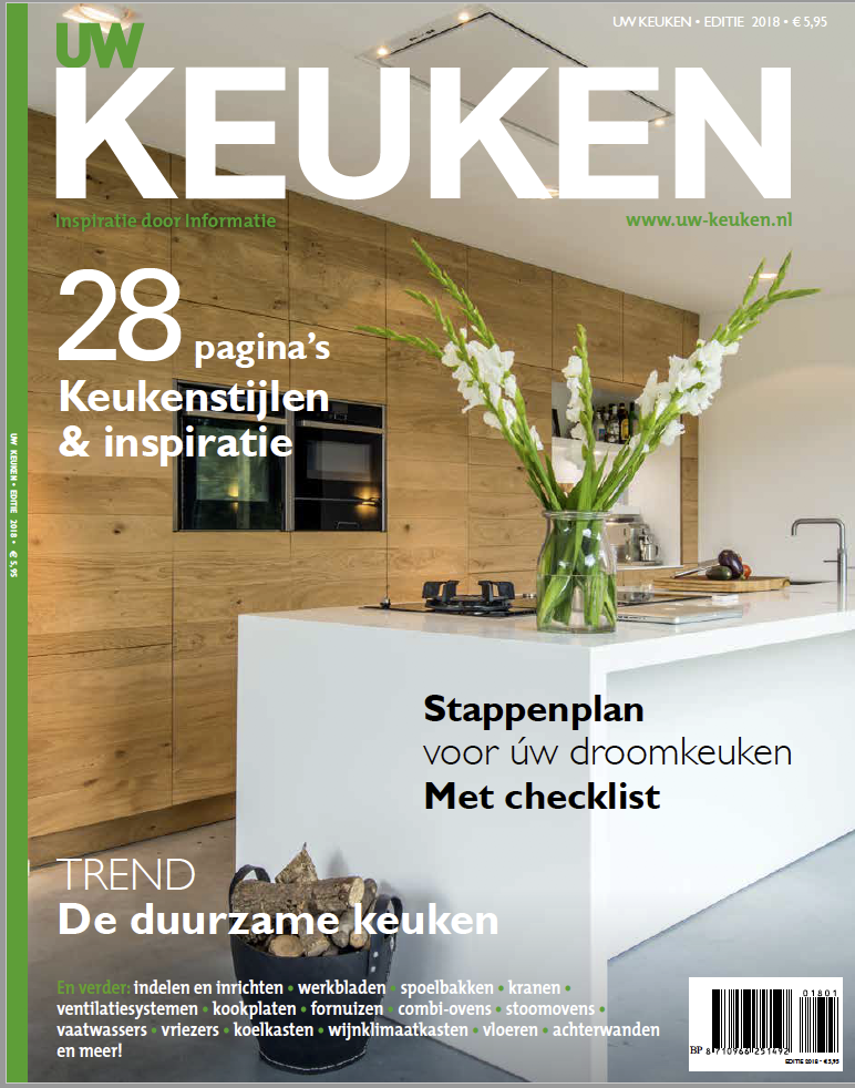 Keukeninspiratie en keukentrens in UW Keuken Magazine #keuken #keukeninspiratie #woonmagazine #keukentrends