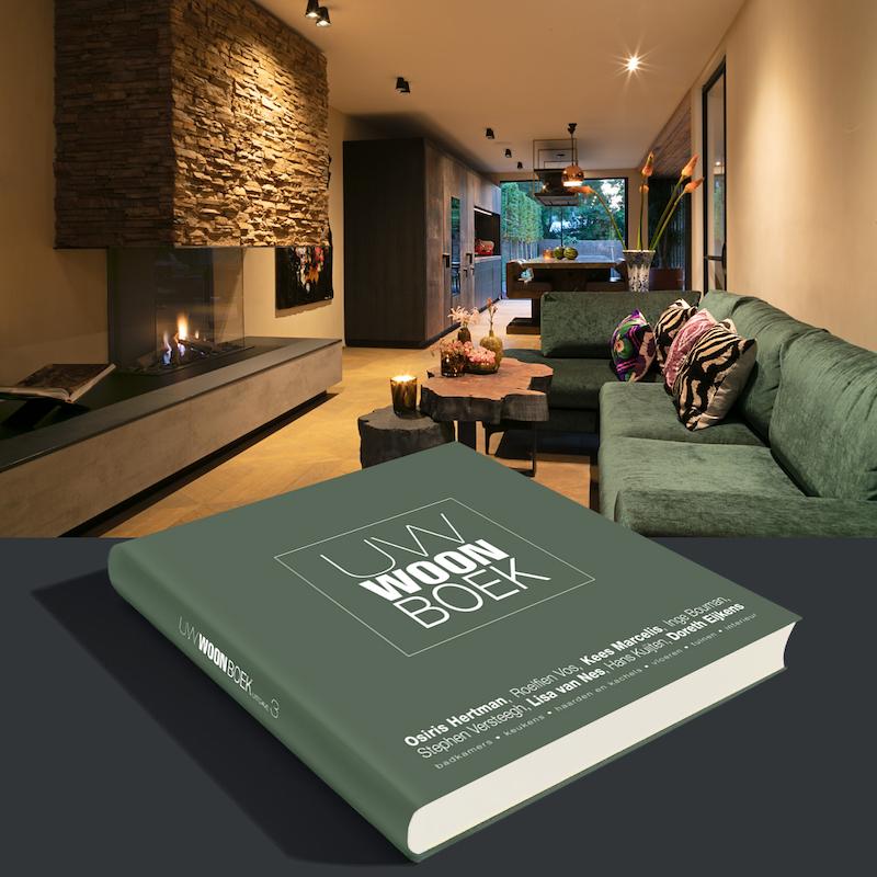 Woonboek kopen. Bestel hier het nieuwste Woonboek met fraaie reportages van bekende interieurarchitecten #woonboek #koffietafelboek #interieur #interieurinspiratie #uwwoonboek