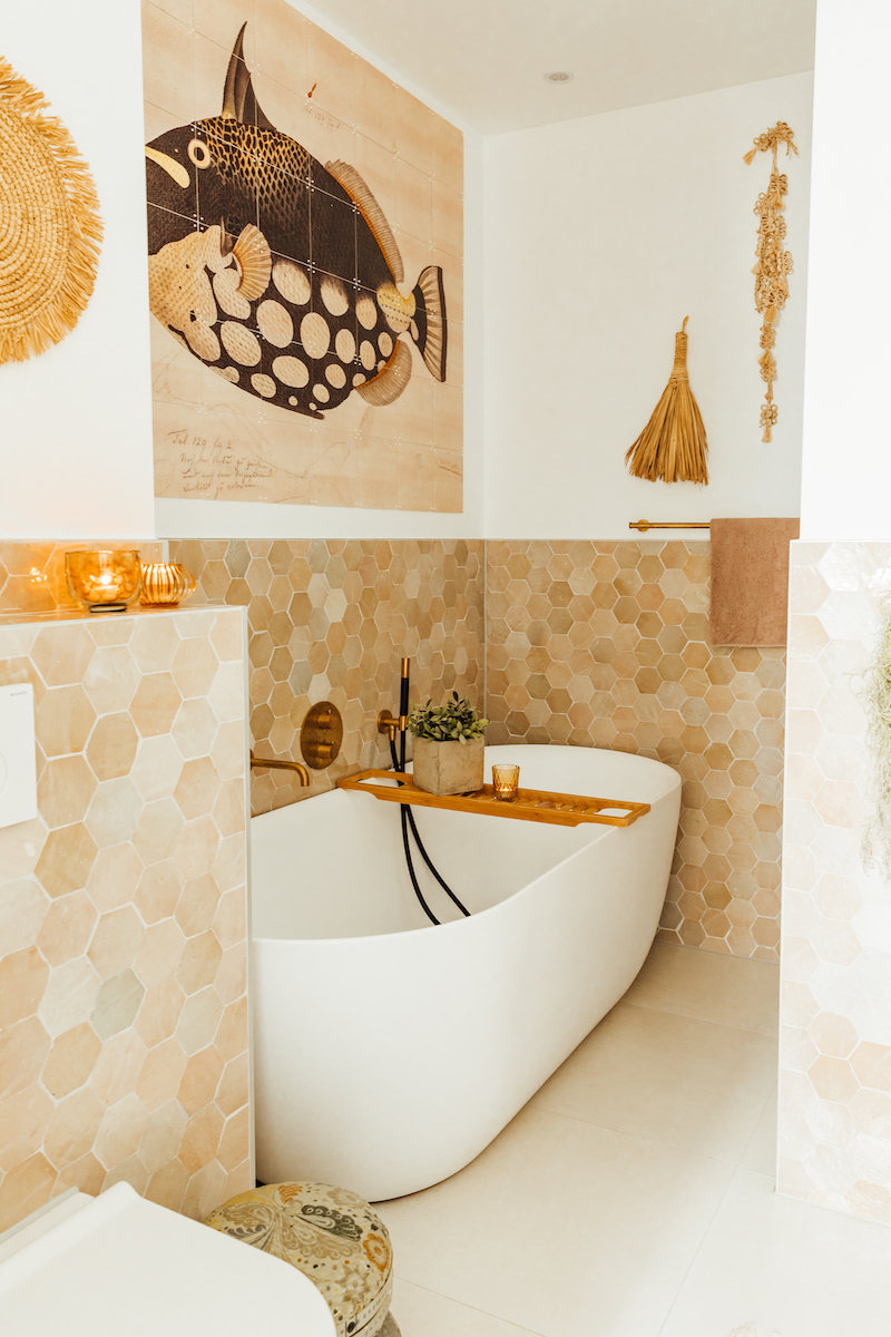 Designtegels voor de badkamer #tegels #badkamertegels #designtegels.nl