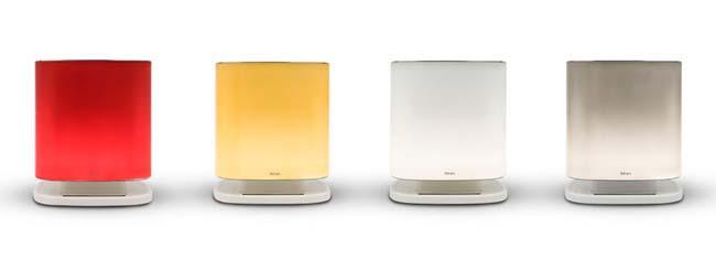 Bellaria by Falmec luchtreiniger. Zuivere lucht in huis in designlamp met led-verlichting #bellaria #luchtreiniger