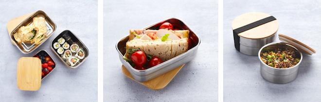 Point-Virgule lunchboxen