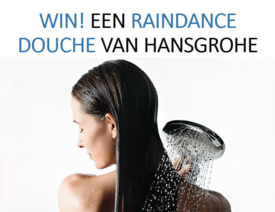 Win een Raindance handdouche van Hansgrohe