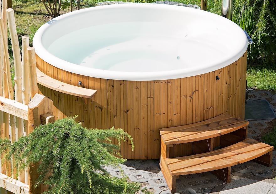 UW-zwembad buitenspa's en hottubs