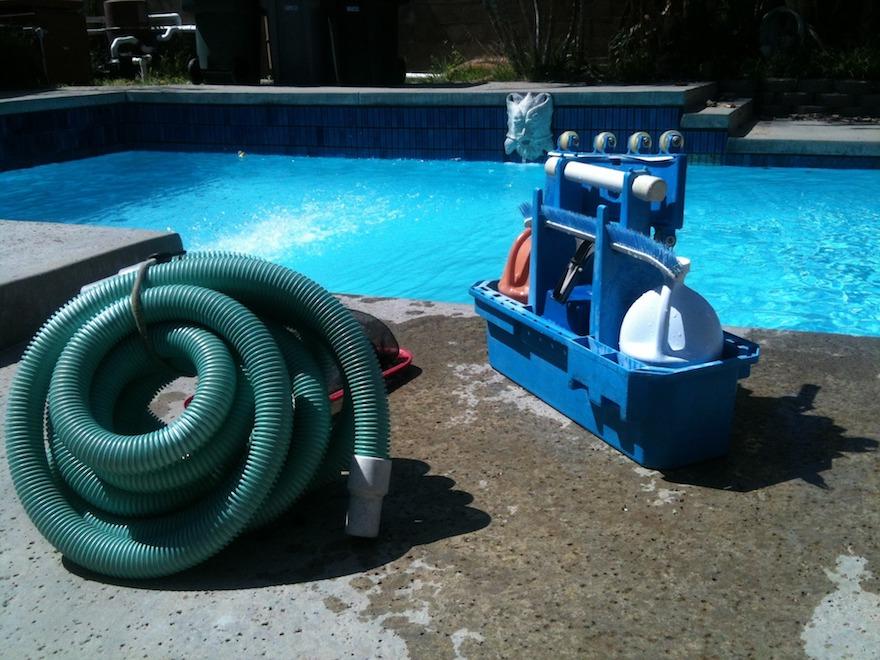UW-zwembad onderhoud