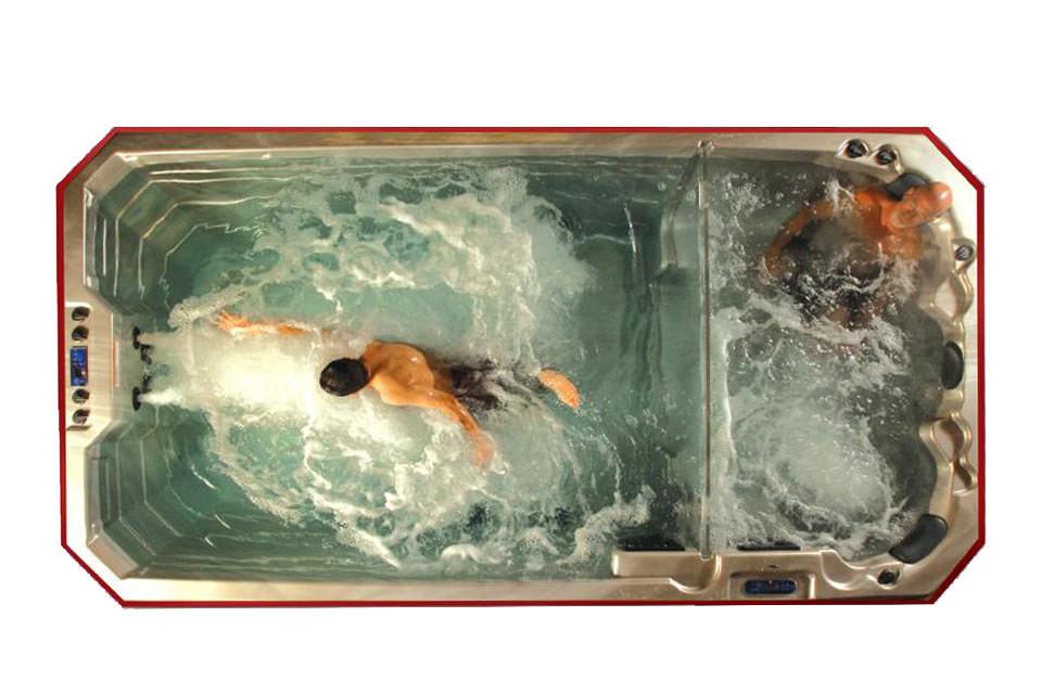 De voordelen van een zwemspa trainen