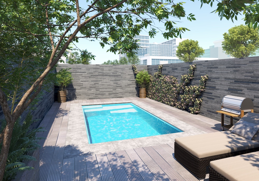 Starline zwembad in de tuin #zwembad #starline #staycation #tuin