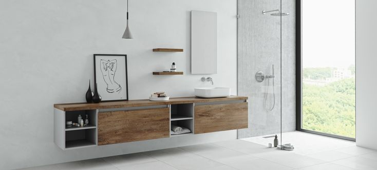 Primabad badkamermeubel verkrijgbaar bij Sanidrome en vakkundig geinstalleerd #primabad #sanidrome #badkamer