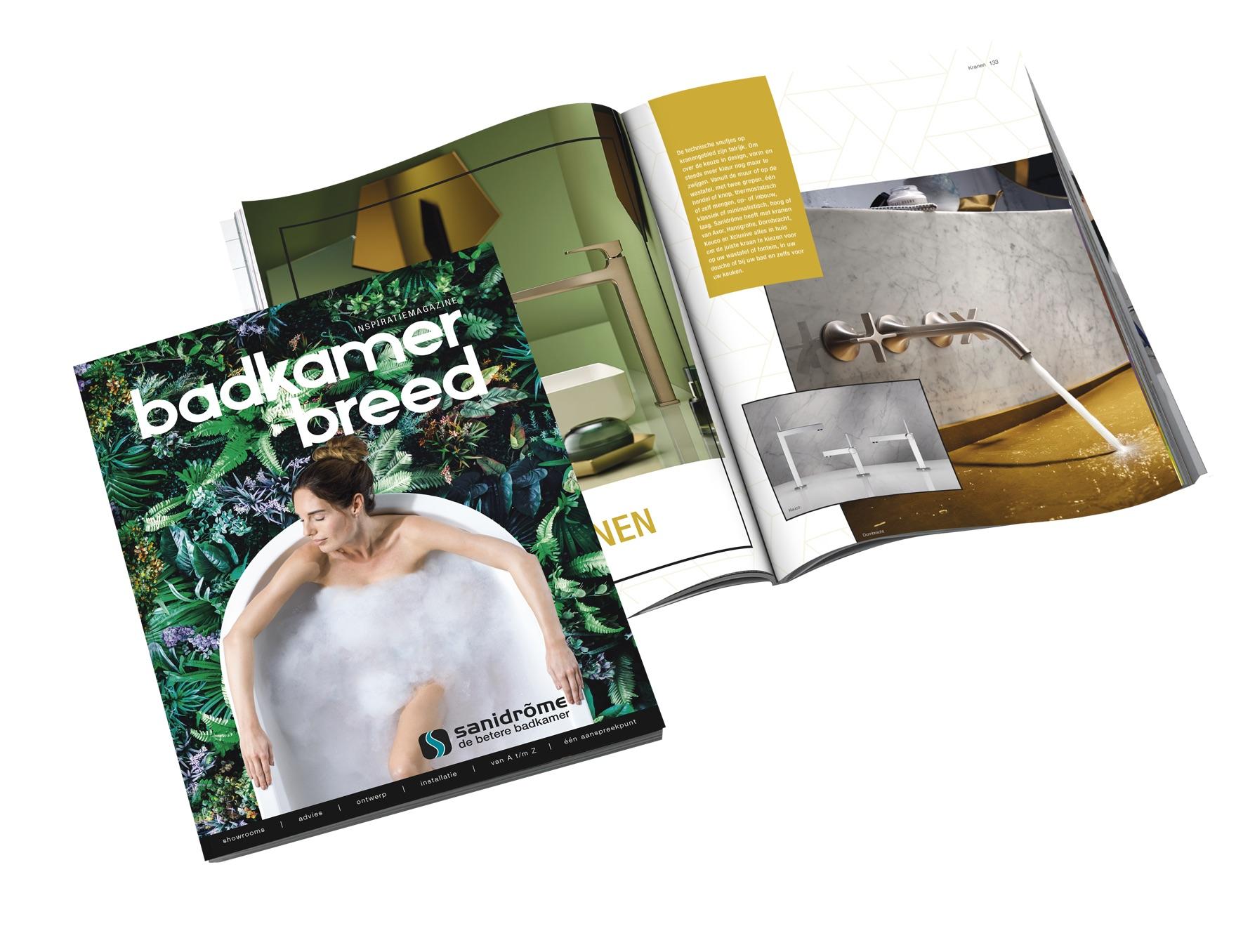 Badkamerbreed inspiratiemagazine Sanidrome