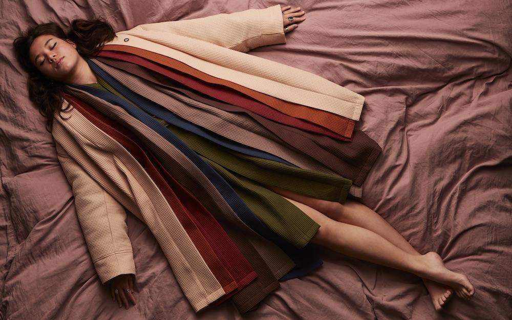 Suite702 badcollectie. Badjassen, handdoeken en badlakens in zeven verschillende kleuren