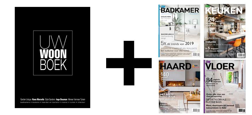 Woonmagazines pakket aanbieding. Het Vakantie inspiratie Klus pakket #woonmagazines