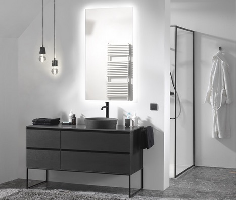 x2o industriele badkamer #industrieel #badkamer #industrielestijl #badkamerinspiratie #badkamerstijl #x2o