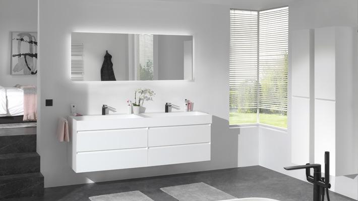 X2o badkamer wit. Eigentijdse badkamer #badkamer #badkamerinspiratie #badkamerstijl #x2o