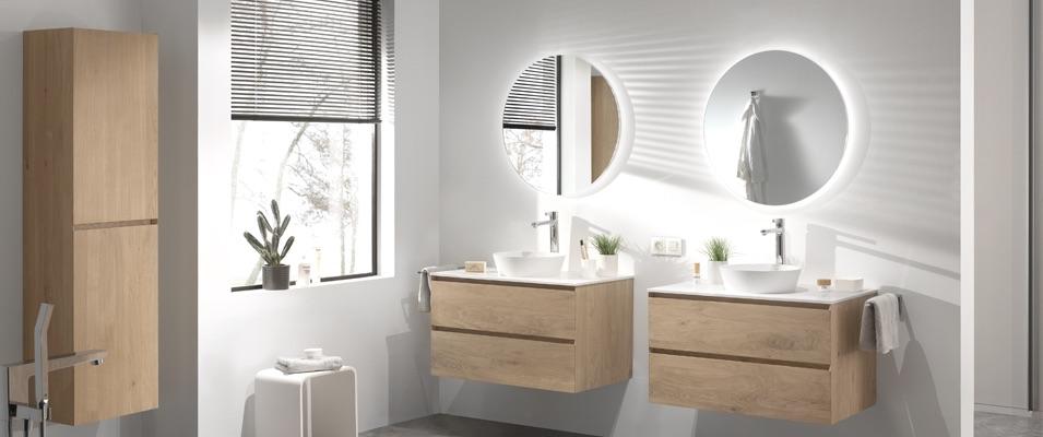 Eigentijdse badkamer #badkamer #badkamerinspiratie #badkamerstijl #x2o
