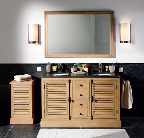 Landelijke badkamer. x2o badkamer in landelijke stijl #badkamer #badkamerinspiratie #landelijkwonen #landelijkestijl #x2o