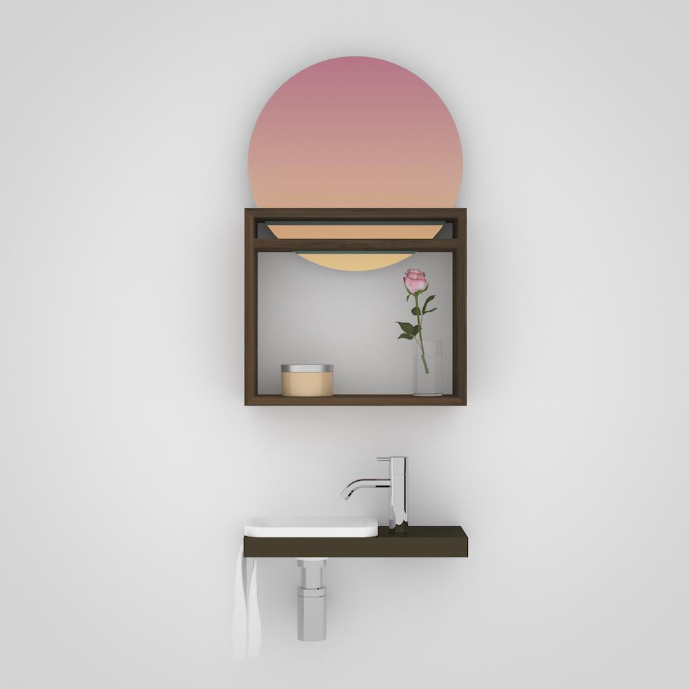 Marike wastafel. Badkamer Design. Sunrise #marike #badkamer #wastafel #sunrise