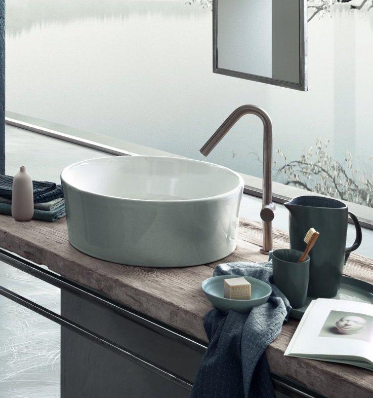 Voorbeelden van waskommen voor de badkamer. Waskom Hatria via Luca sanitair #waskom #badkamer #inspiratie