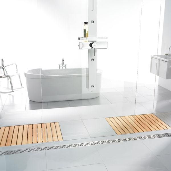 ... in kennen we al van de innovatieve houten badkamervloer zonder afvoer