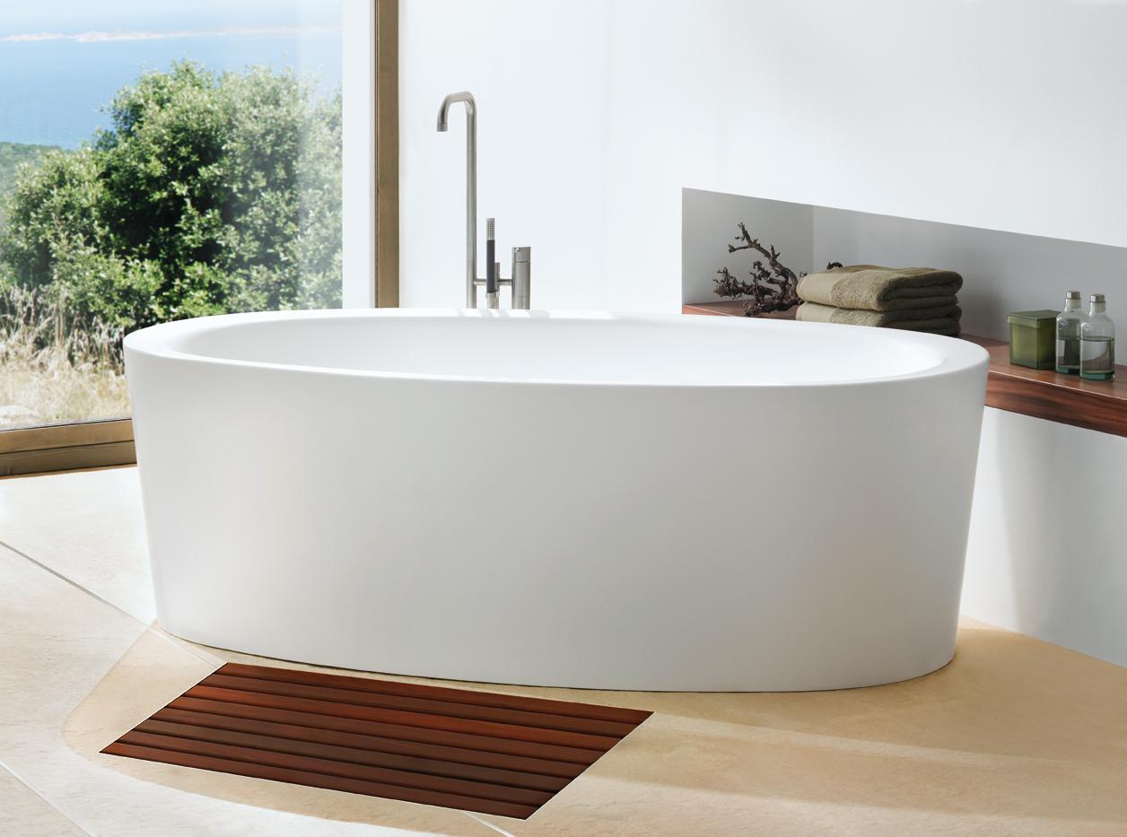 Ideeen badkamervloer: badkamervloer van vinyl met natuursteen look ...