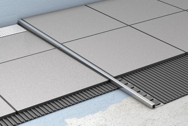 Ideeen Badkamervloer ~ ACO ShowerStep tegelstrip voor inloopdouche  Nieuws Startpagina voor