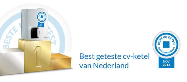 ATAG CV ketel als beste getest door consumentenbond 2014