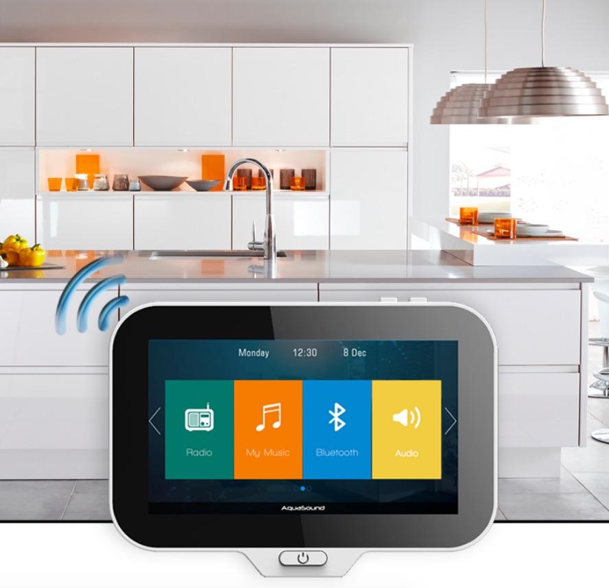Winactie! Win het waterdichte muzieksysteem N-Joy van Aquasound voor keuken en badkamer #gadget #keuken #badkamer #aquasound