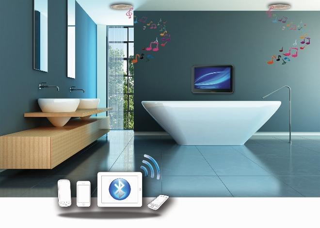 Muziek Badkamer Draadloos : Bluetooth muziek systeem voor de badkamer nieuws startpagina