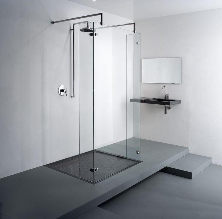Badkamer ideeen inloopdouche het beste van huis ontwerp inspiratie - Model badkamer design ...