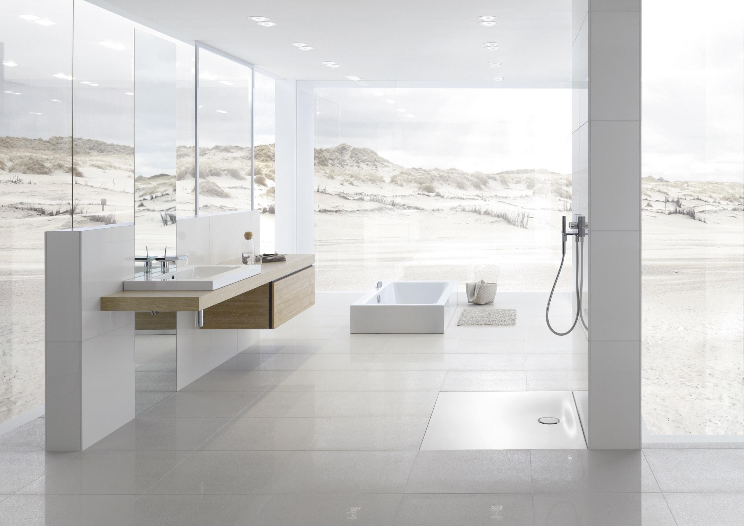 afvoer goot badkamer brigee
