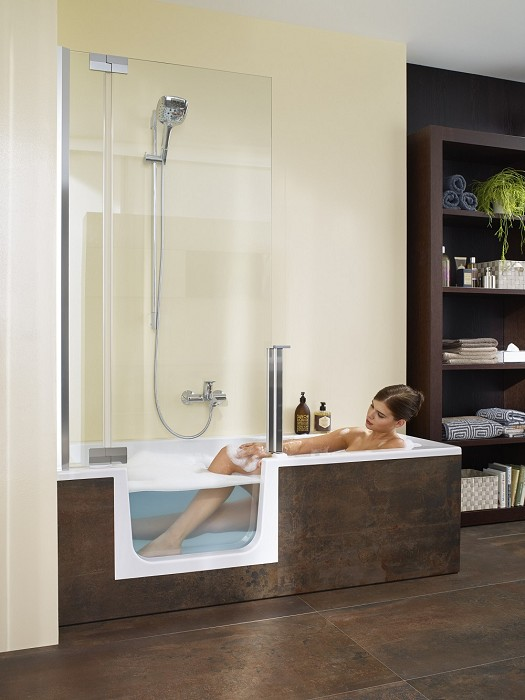 simulatie nieuwe badkamer
