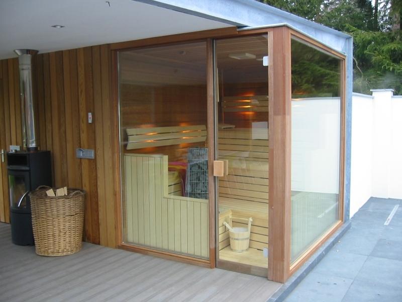 Sauna in de tuin - Cerdic buitensauna