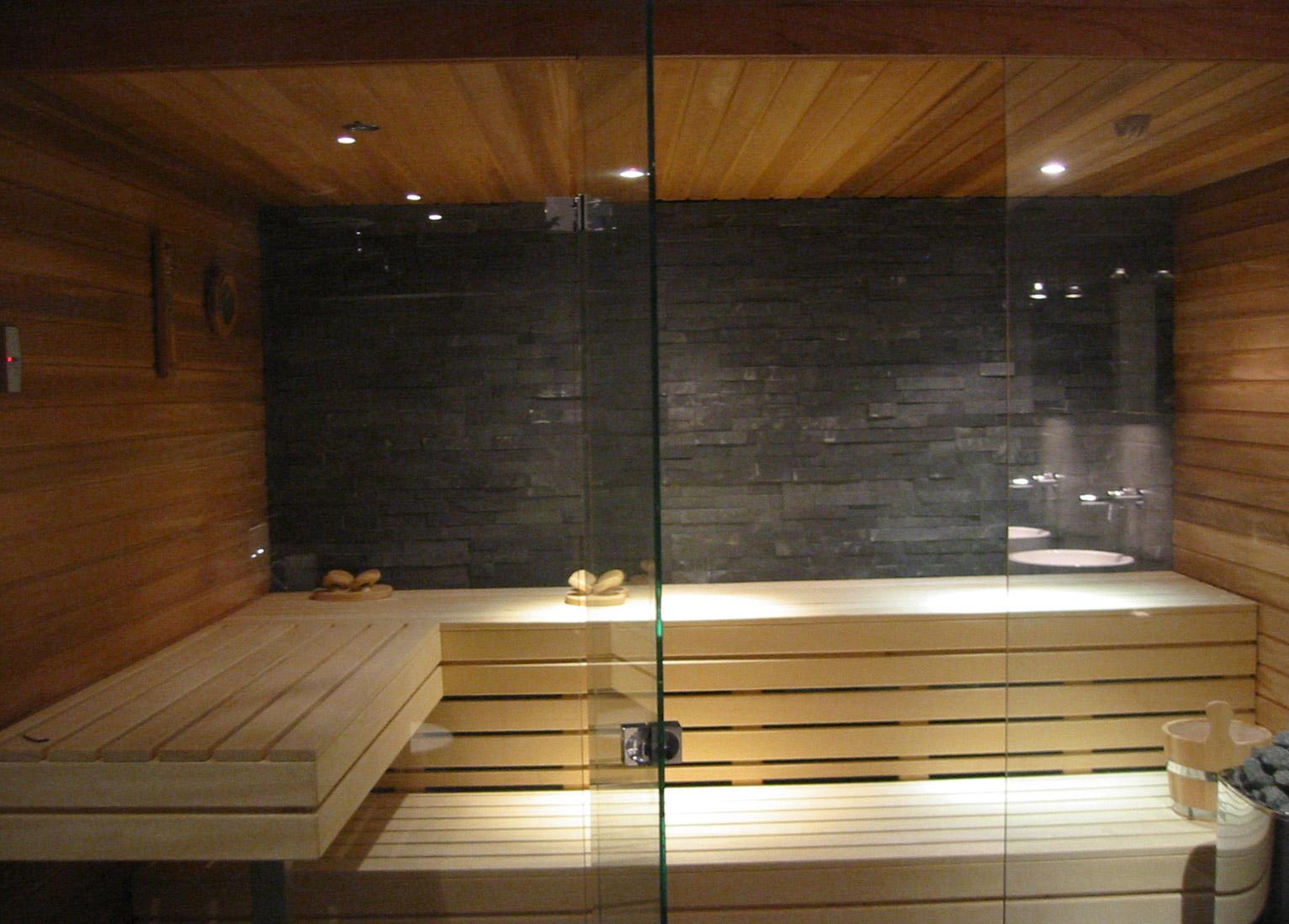 Sauna van Cerdic