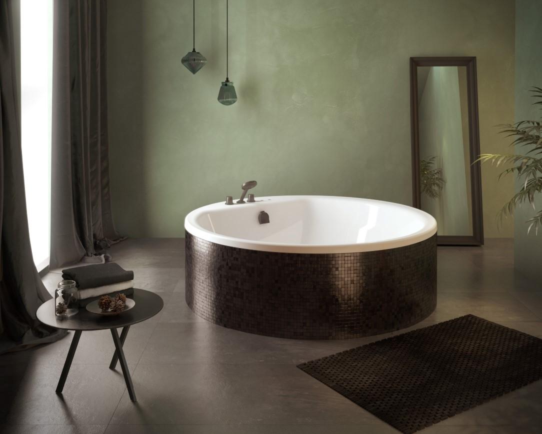 Vrijstaand rond bad met whirlpool- Cleopatra Premiumline