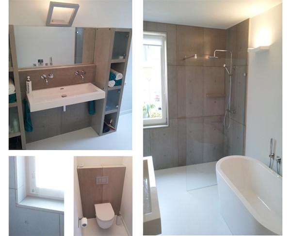 Stoer stijlvol beton in de badkamer nieuws startpagina voor badkamer idee n uw - Plaat bad ...