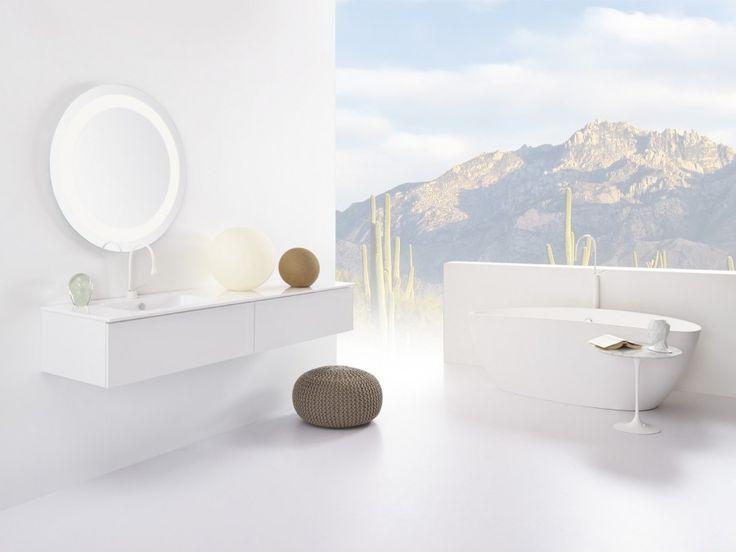 Stel zelf je badkamermeubel samen met badmeubel-serie No Limit 50 van Detremmerie. Kies uit ruim 250 types onderbouwkasten, ruim 300 wastafelbladen, ruim 80 spiegels en ruim 110 spiegelkasten, ruim 100 kolomkasten en dit alles in 37 kleuren en met 7 verlichtingen naar keuze.