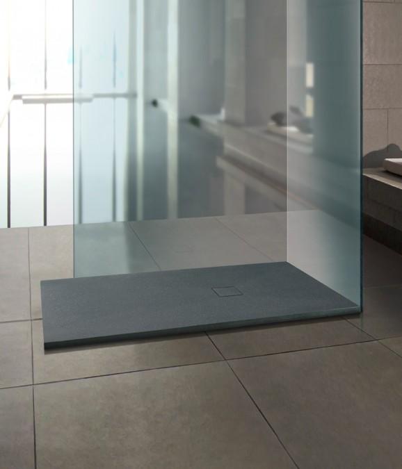 stijlvol douchebakken met steen structuur steen look nieuws startpagina voor badkamer. Black Bedroom Furniture Sets. Home Design Ideas