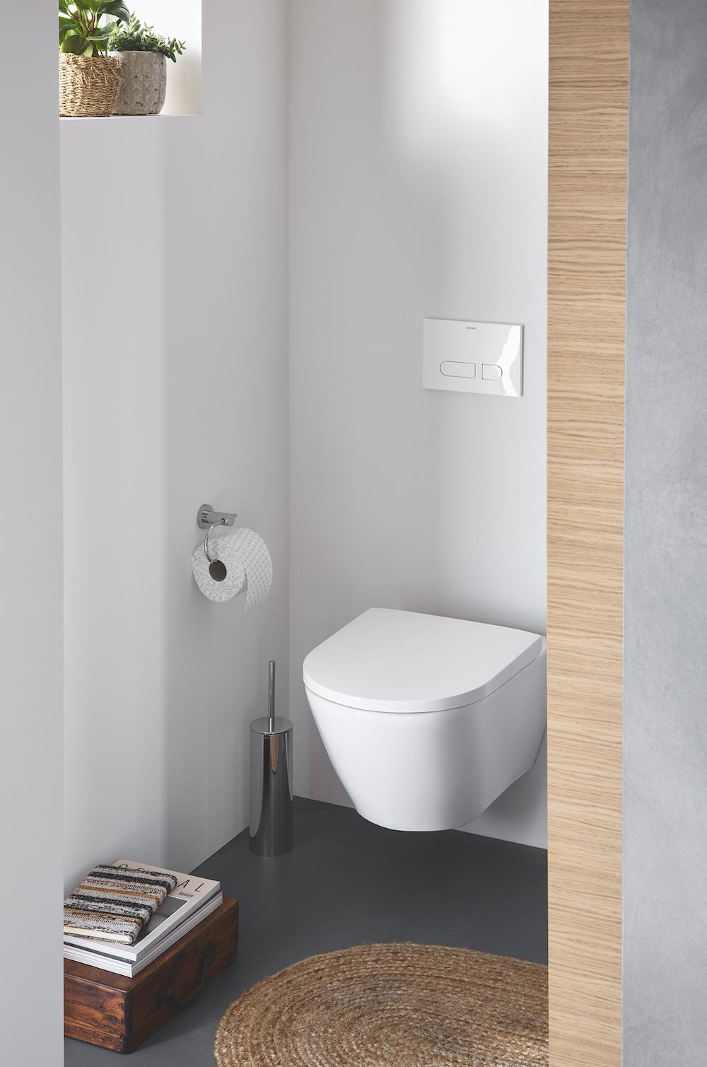 Toilet voor absolute hygiene met Hygieneflush van Duravit #duravit #toilet #hygiene #hygieneflush
